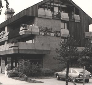 Bäckerei Kindhauserstrasse 1, Ende 1970er