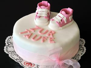 Baby-Schuh-Torte