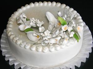 """Hochzeitstorte """"Flowers"""""""