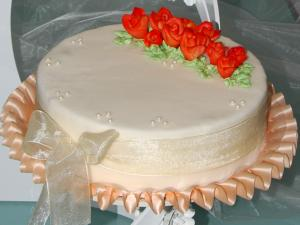 """Hochzeitstorte """"Rose"""""""